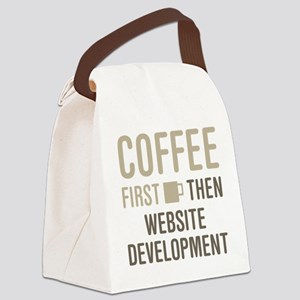 Website Development Canvas Lunch Bag